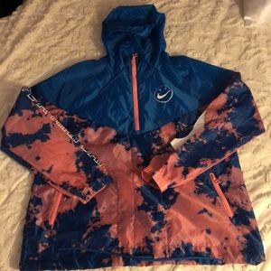 Tie-Dyed Nike Windbreaker